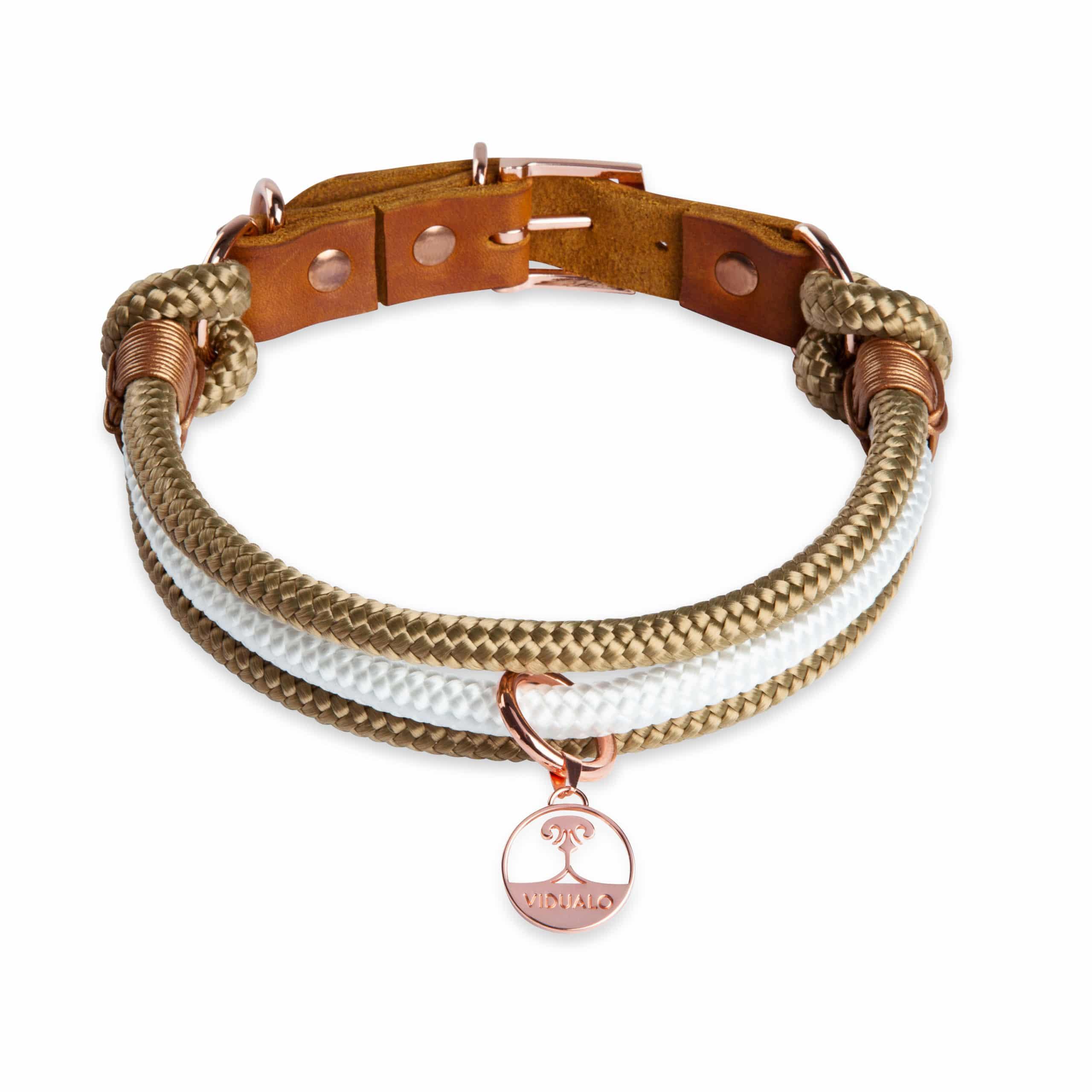 VIDUALO® Hundehalsband - Look Aminata